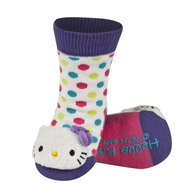 SOXO Hello Kitty baba zokni csörgővel 19-20-21