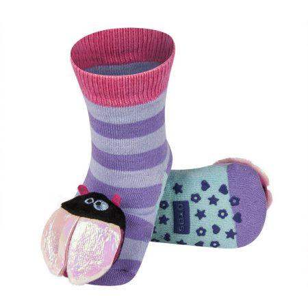 SOXO csörgős baba zokni csúszásgátlóval 19-20-21