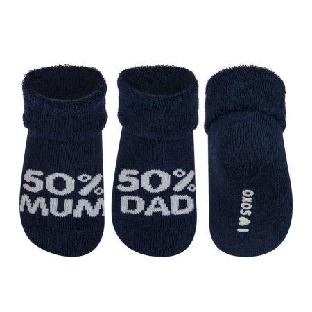 SOXO 50% MUM - 50% DAD baba zokni 16-17-18