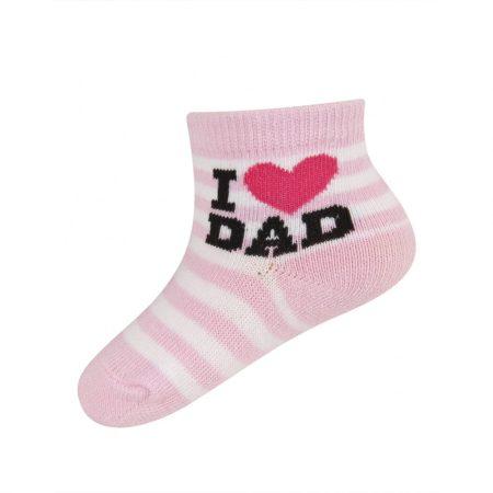 Soxo_I_Love_Dad_Rozsaszin_Baba_Zokni_16-18