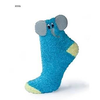 Női meleg plüss zokni 3D mintával