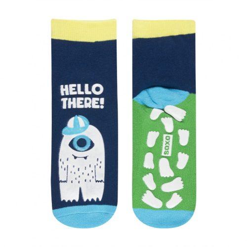 SOXO Sötétben világító, foszforeszkáló gyermek zokni 26-28 - Szörnyes