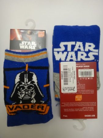 Star_Wars_Gyerek_Zokni_27-30_Darth_Wader