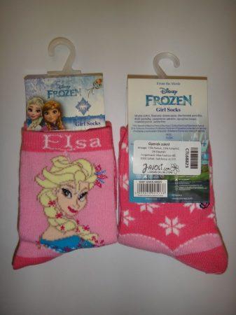 Jégvarázs Frozen gyerek zokni 27-30 ELSA