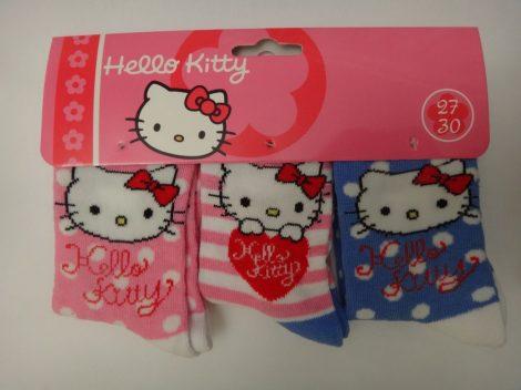 Hello Kitty gyerek zokni 27-30 3 PÁR