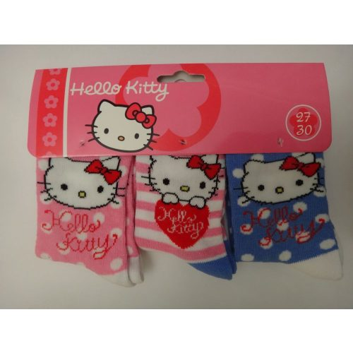 Hello_Kitty_Gyerek_Zokni_35-37_3_Par